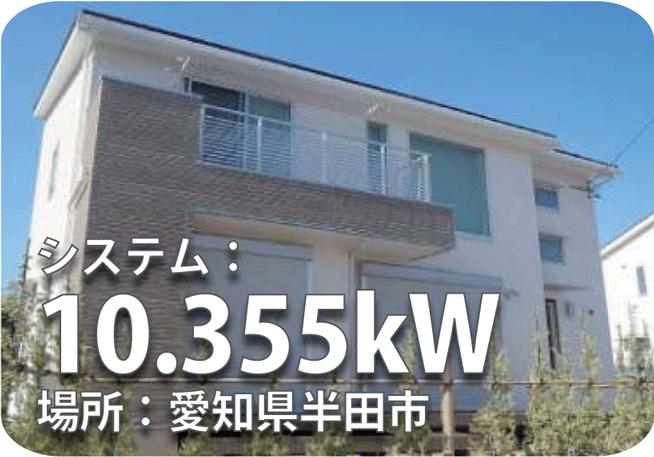 愛知県10.355kW